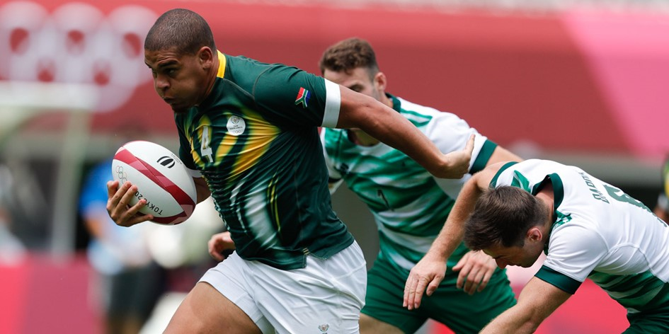 South Africa beat Ireland to open Olympic account