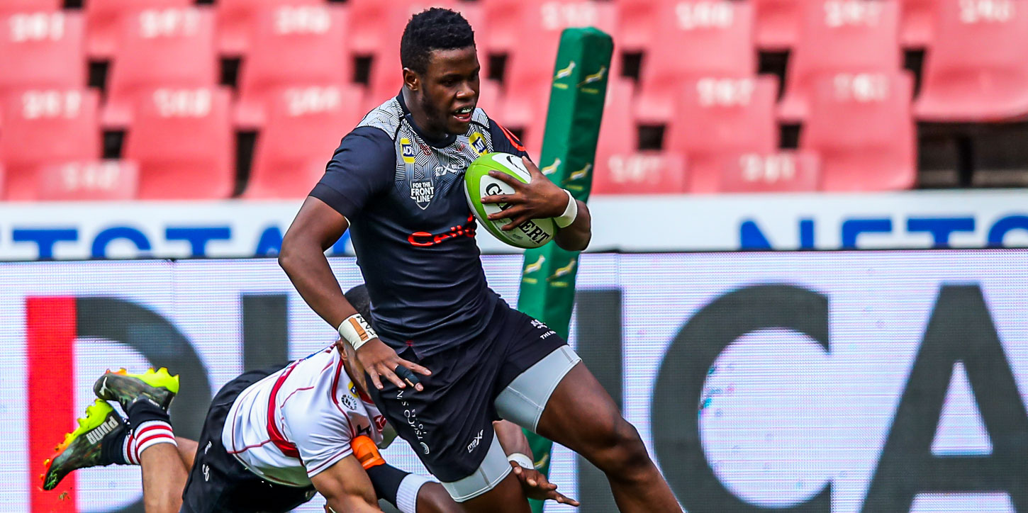 Aphelele Fassi is one of the Cell C Sharks' best attacking players.