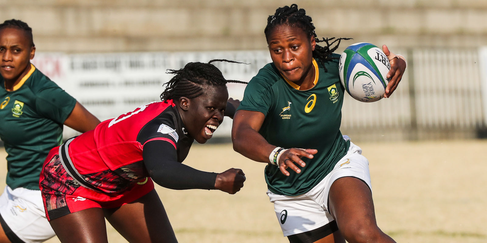Mpupha in action in the RWC Qualifiers in 2019.